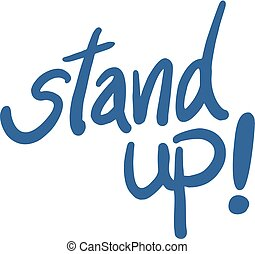 stand up message
