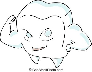 strong tooth draw