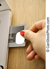 Credit Card Insert Inside Laptop