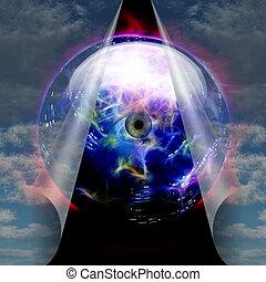 Crystal Ball reveals eye