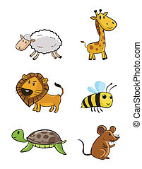 Cute Animal Baby Set