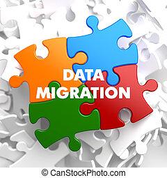 Data Migration on Multicolor Puzzle.
