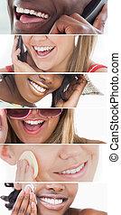 Dental care collage
