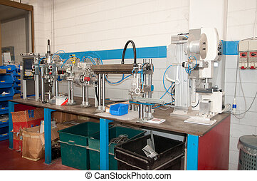 Building line e machine for automation