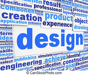 Design slogan poster background