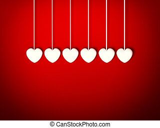 Design Template. Heart for Valentines Day Background