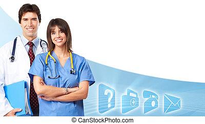 Doctors team.