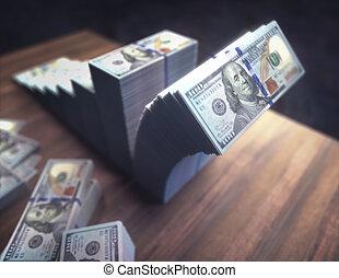 Dollar Chart Financial Loss