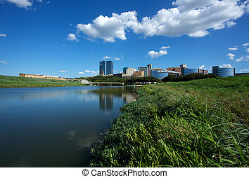 View of Downtown Fort Worth from the Trinity River