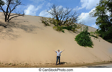 Dune that Moves in Indiana
