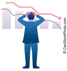 Economic Recession Crash