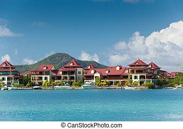 Eden Island resedincy and marina, Seychelles