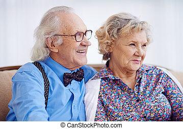 Elegant seniors