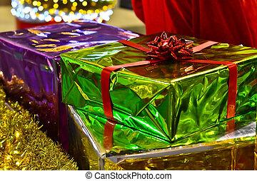 Elegantly wrapped present