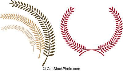Emblem template
