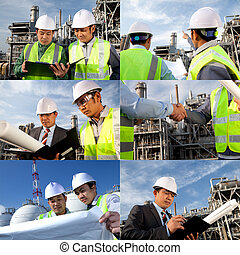 engineer oil refinery collage