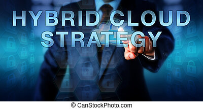Enterprise User Touching HYBRID CLOUD STRATEGY