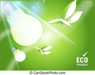 Environmental and Ecology concept background .