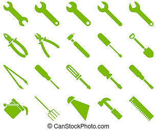 Equipment and Tools Icons