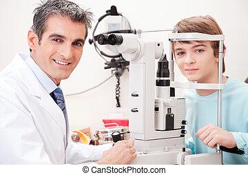 Eyesight Test Examination