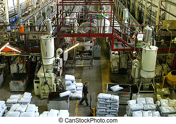 Factory of manufacturing of pipes from within