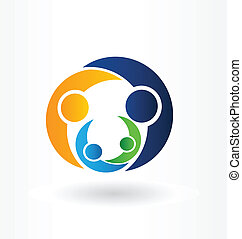 Family care icon vector illustration