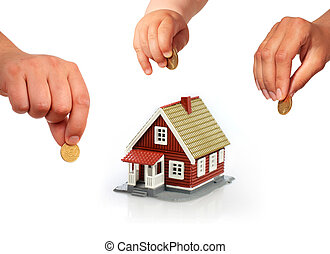 Family invest in real estate.