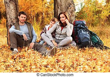 family sitting
