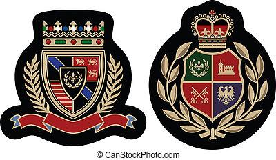 fashion emblem badge