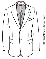 A useful graphic for your fashion choise. An elegant formal jacket to match wit a formal trousers or jeans.