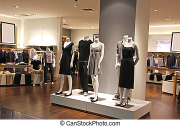 Fashion clothing retail display clothes for sale