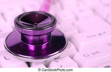 female health care stethoscope