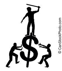 Fighting against economic inequality