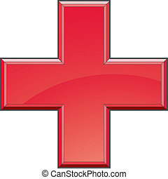 First Aid Medical Cross