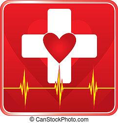 First Aid Medical Health Symbol