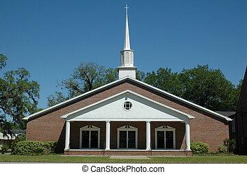 First Baptist Church of Trenton, Florida.