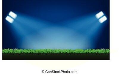 football field light