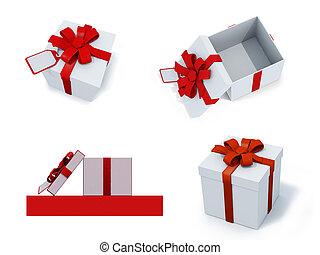 four present boxes
