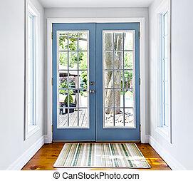 French patio glass door