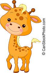 Fun zoo. Giraffe