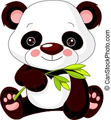 Fun zoo. Panda