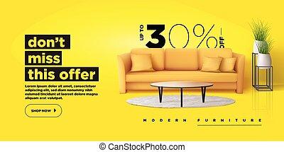 Furniture web banner