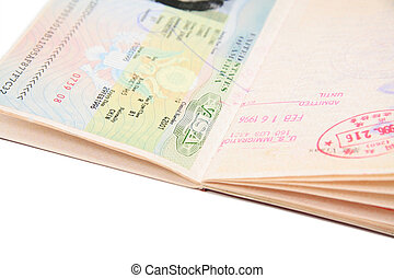 general passport with us VISA