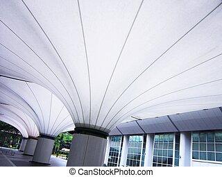 Giant open auditorium