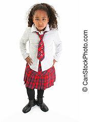 Girl Child Standing