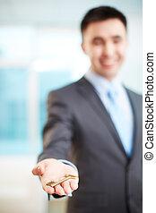 Giving key