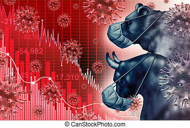 Global Economy Pandemic Fear