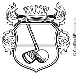 Golf club coat of arms