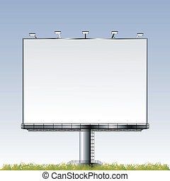 Grand outdoor billboard with room for your text