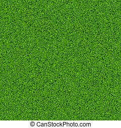 Green grass field. Seamless vector.